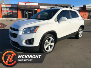 2015 Chevrolet Trax Bluetooth/Leather/Heated Seats/Back Up Cam/Low KM!