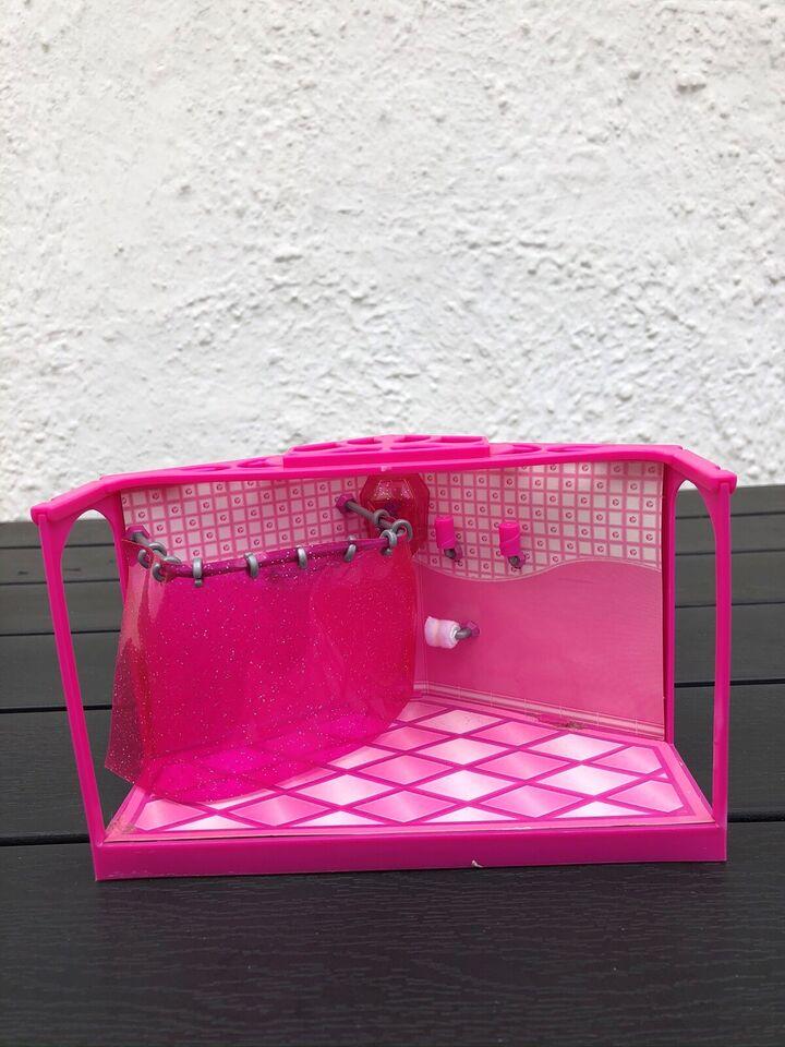 Andet legetøj, Polly Pocket badeværelse med brusekabine,