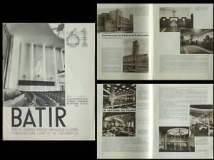 Batir N°61 1937 Oostacker, Taverne Bruxelles, Soree, Van Zeeland, Vaes, Gridaine éLéGant Et Gracieux