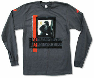 John-Cougar-Mellencamp-Photo-Sessions-1979-85-Grey-Long-Sleeve-T-Shirt-New-Adult