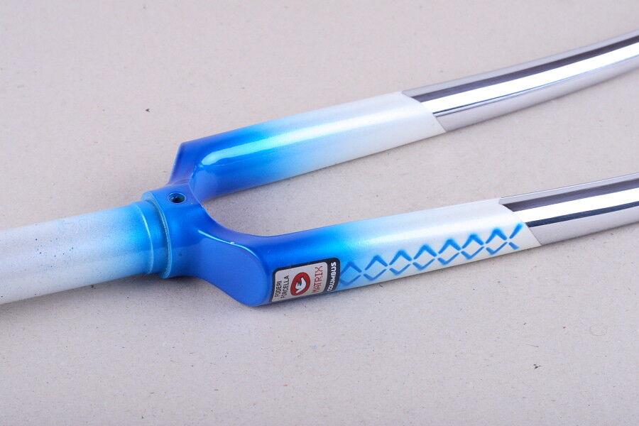 NOS Viner Zig Zak decor 1 inch threaded fork, Columbus Matrix, 16cm steerer