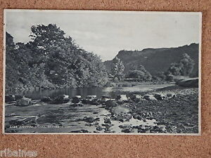 R-L-Postcard-Stepping-Stones-Bettws-y-coed-Wales-Judges-1923
