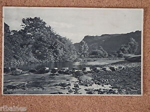 R-amp-L-Postcard-Stepping-Stones-Bettws-y-coed-Wales-Judges-1923