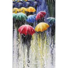 Full Drill DIY 5D Rain Umbrella Diamond Painting Embroidery Cross Stitch Decor