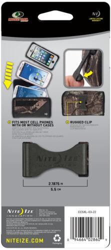 Nite Ize Clip Case Sideways Holster Xl Mossy Oak Break-Up Infinity CCSXL-03-22