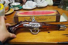 Vintage Avon Decanter Bottle with original Box  - 70's Dueling Pistol II
