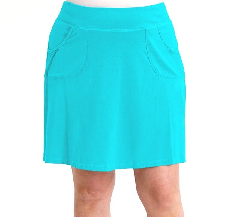 FRESH PRODUCE 1X Luna blueE Stretch Knit CITY Skort Skirt NWT New 1X