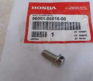 Part Honda 96001-06060-07 Bolt Genuine Original Equipment Manufacturer OEM
