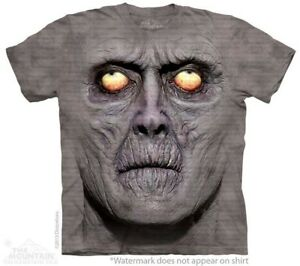 Zombie-Portrait-T-Shirt-by-The-Mountain-Scary-Horror-Undead-Sizes-S-5XL-NEW