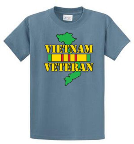 Vietnam Veteran Port /& Co Printed Tee Shirts Mens Regular and Big and Tall Sizes