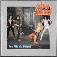 SATAN JOKERS Les Fils Du Métal CD 1999 Axe Killer Limited Edition Nummeriert