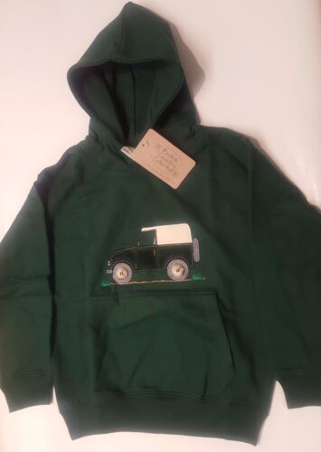 British Country Collection vert bouteille Off Roader Sweat à Capuche-Tailles 5-13 ans