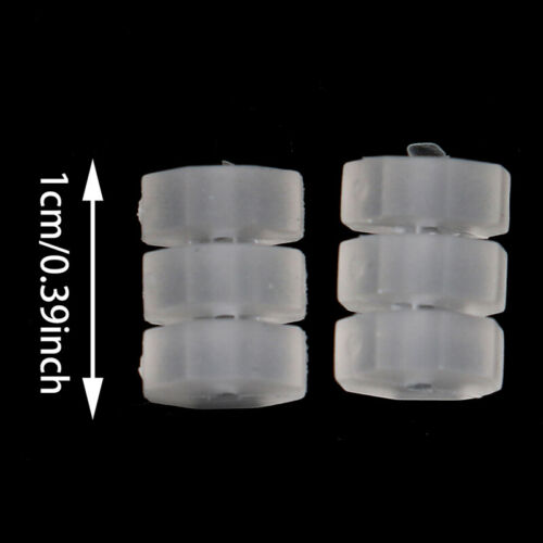 30pcs Frame protector Donuts O-Rings for bike bicycle shift brake cablesB/_dr