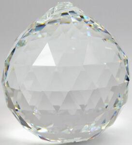 kristallkugel aufh nger f r feng shui 20mm klar original swarovski kristalle ebay. Black Bedroom Furniture Sets. Home Design Ideas