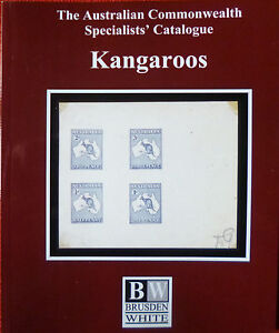 AUSTRALIA-BRUSDEN-WHITE-2017-KANGAROOS-Commonwealth-Specialists-Catalogue-COLOUR