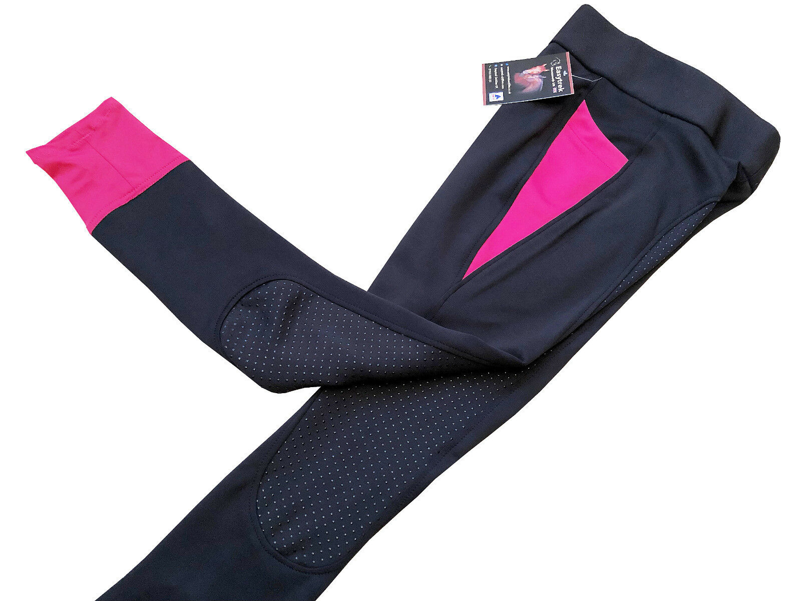 Ladies High Performance Sports Active Silicone Breeches Riding Tights Leggings