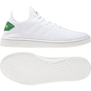Mens Adidas Court Adapt White Sport Tennis Athletic Court Shoe F36417 Size 9.5