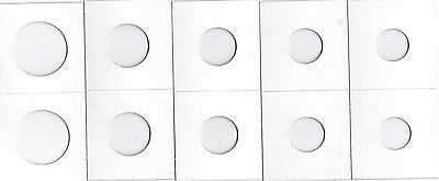 NEW F4 * *200 ASSORTED SIZE 2X2 CARDBOARD//MYLAR COIN HOLDERS FLIPS* YOU PICK