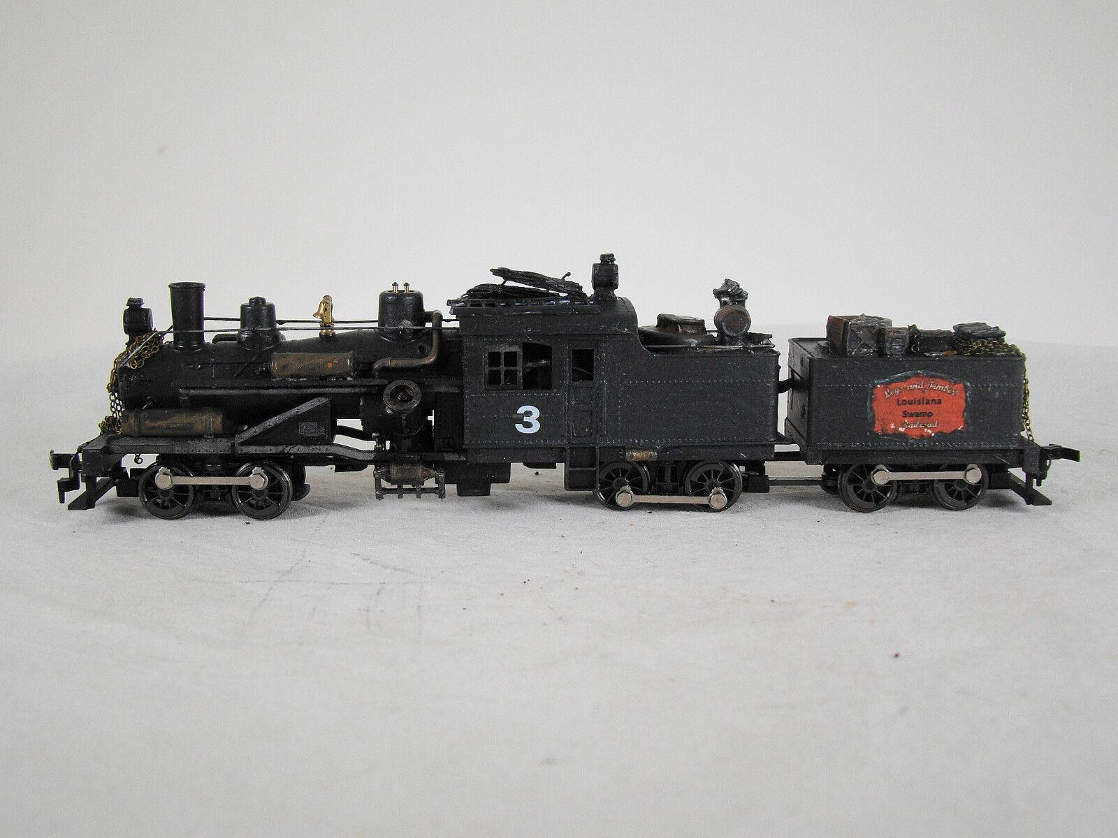 Registro de HO Locomotora de Vapor Heisler-Personalizado resistido-DCC  Sonido-Lote 18