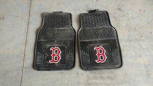 Boston-Red-Sox-Heavy-Duty-MLB-Floor-Mats-2-Sets-for-Cars-Trucks-amp-SUV-039-s