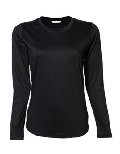 Ladies Longsleeve Interlock Damen T-ShirtTee Jays