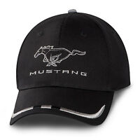 Ford Mustang Black And Silver Cotton Hat