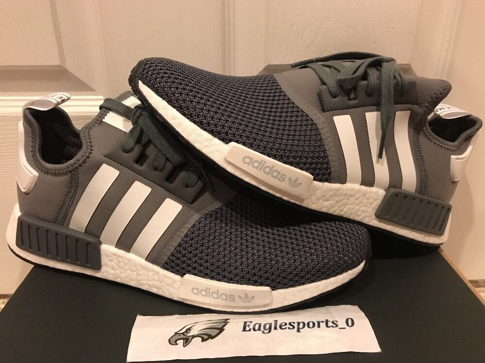 ADIDAS NMD R1 MESH GREY JD EURO SPORTS EURO JD EXCLUSIVE DS SZ 12.5 BB6786 e545bf