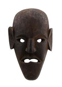 Maschera Massa Nepal De L'Himalaya Sciamano-Viso Humain Tribale 5449 W4