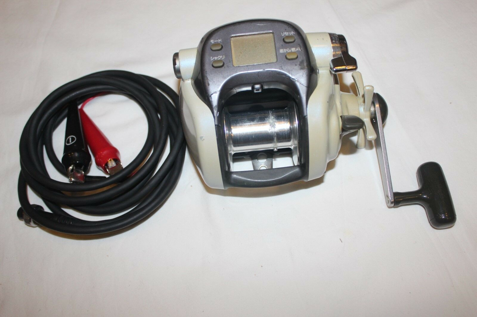 DAIWA SUPER TANACOM X-600 CP-ELEKTRgoldLLE-MADE IN JAPAN-Nr-1079