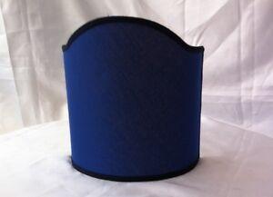 Paralume a ventola scudo blu diam cm super prezzo stock ebay