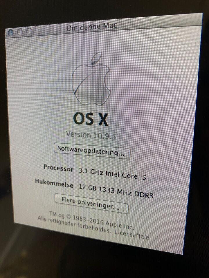 iMac, Medio 2011, 3,1 GHz Intel Core i5 GHz