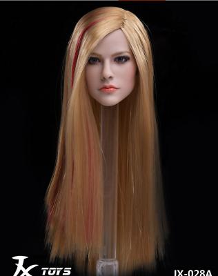 """028 C fit 12/"""" corps féminin Jouets 1//6 Avril Lavigne Beauty Singer Head Sculpt jxtoys"""