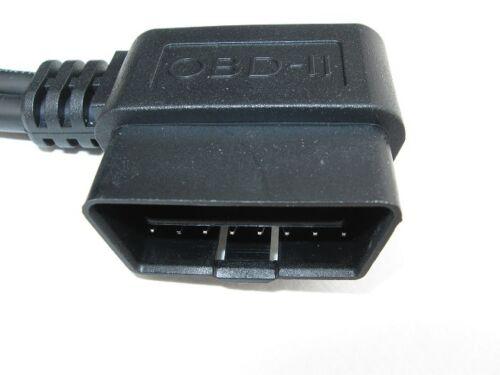 RA Male X 3 Female Y Cable USA all 16 Pins wired OBD2 OBD-II Splitter 3 way