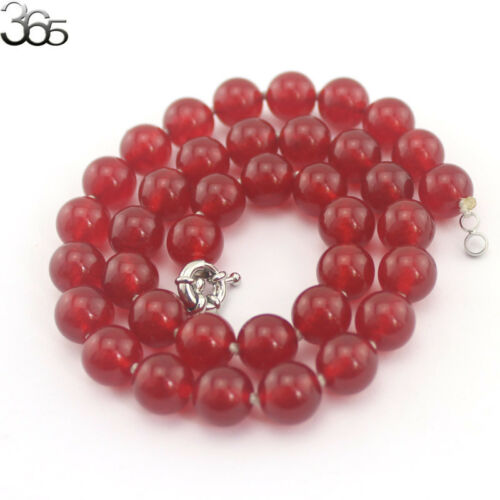 "Wholesale 17.5/""  Round Gemstone Jade Beads 10mm Knot Strand Jewelry Necklace"