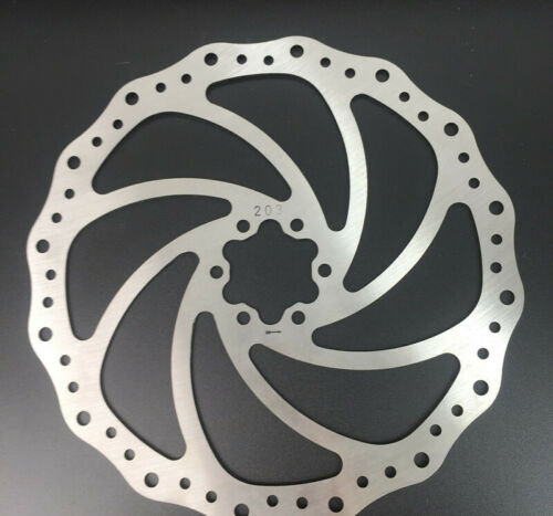 UK High Quality Mountain Bike 140//160//180//203mm Disc Brake Rotor Cycle Bicycle