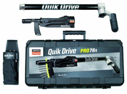 SIMPSON QUICK DRIVE QDPRO76SKE Quik Drive Vorstatz für Holzschrauben 32-76 mm
