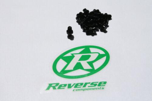 Reverse Escape Pedal Pin Set Alu schwarz
