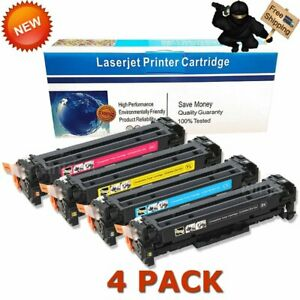 4x-Toner-CE410A-Cartridge-Set-for-HP-305A-LaserJet-Pro-400-Color-M451nw-M475dw
