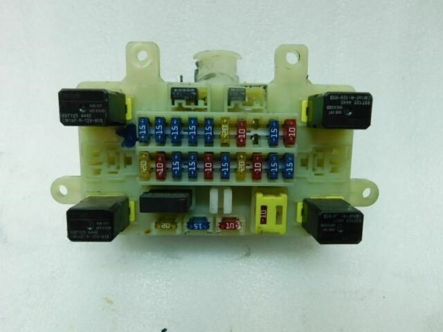 Honda Passport 1998 1999 Inside Fuse Box  Cabin 30162 Ho