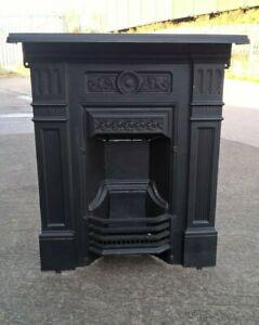 antique combination fireplace