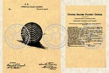 US Patent Granted for a GLASS TARGET BALL #208