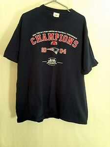 324f03c27 New England Patriots Super Bowl XXXIX NFL Football T Shirt Reebok ...