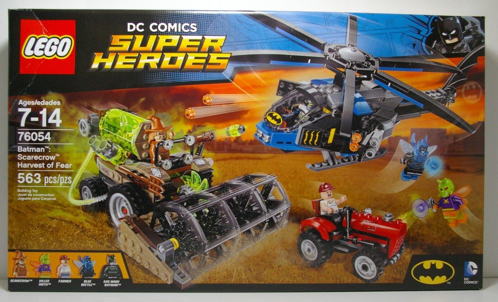 LEGO SUPER HEROES DC 76054 BATMAN SCARECROW HARVEST OF FEAR 2016  MIP