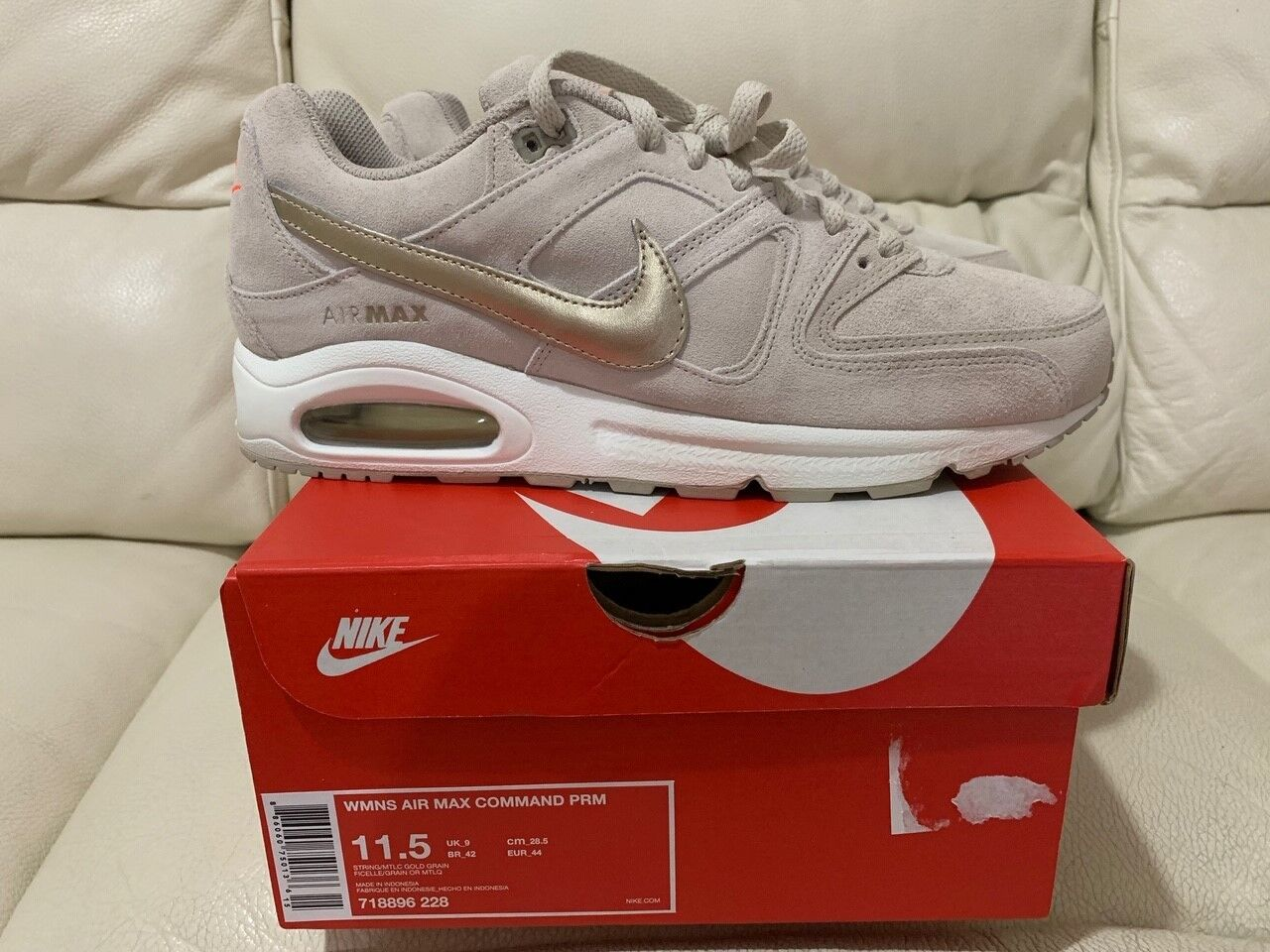 Nike Femme Air Max Comhommed Prm Tailles UK 8 9 9.5 Neuf