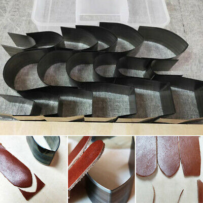 1 Set Leather Craft Cutter Punch Strap Belt Wallet End Tools Die Cut Hand Crafts
