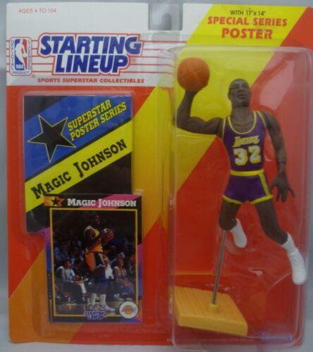 LOS ANGELES LAKERS Starting Lineup 1992  MAGIC JOHNSON SLU Figurine
