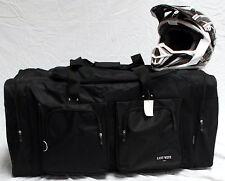 XL Motorcycle atv gear bag motocross off road dirt bike mx snowmobile black
