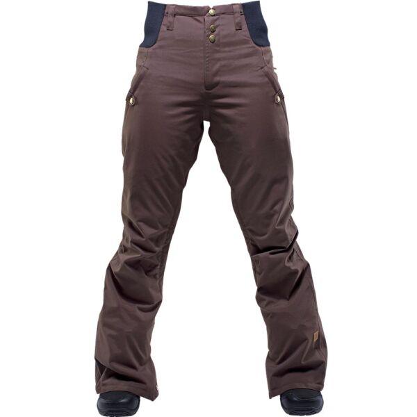 2016 Nwt Donna Ride Alta Wasted Pantaloni Snowboard M Cacao Marrone Prezzo Di Vendita Diretto In Fabbrica