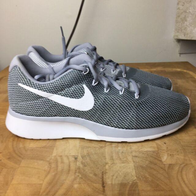 cbcdb2a8d8ff Nike Men s Tanjun Racer Shoes Size 9.5 Grey White Black 921669 001 ...
