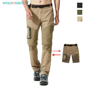 Mens-Zip-Off-Pants-Outdoor-Cargo-Shorts-Quick-Dry-Climbing-Pants-Hiking-Trousers
